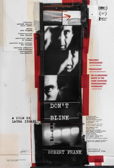 Laura Israel: Don't blink – Robert Frank